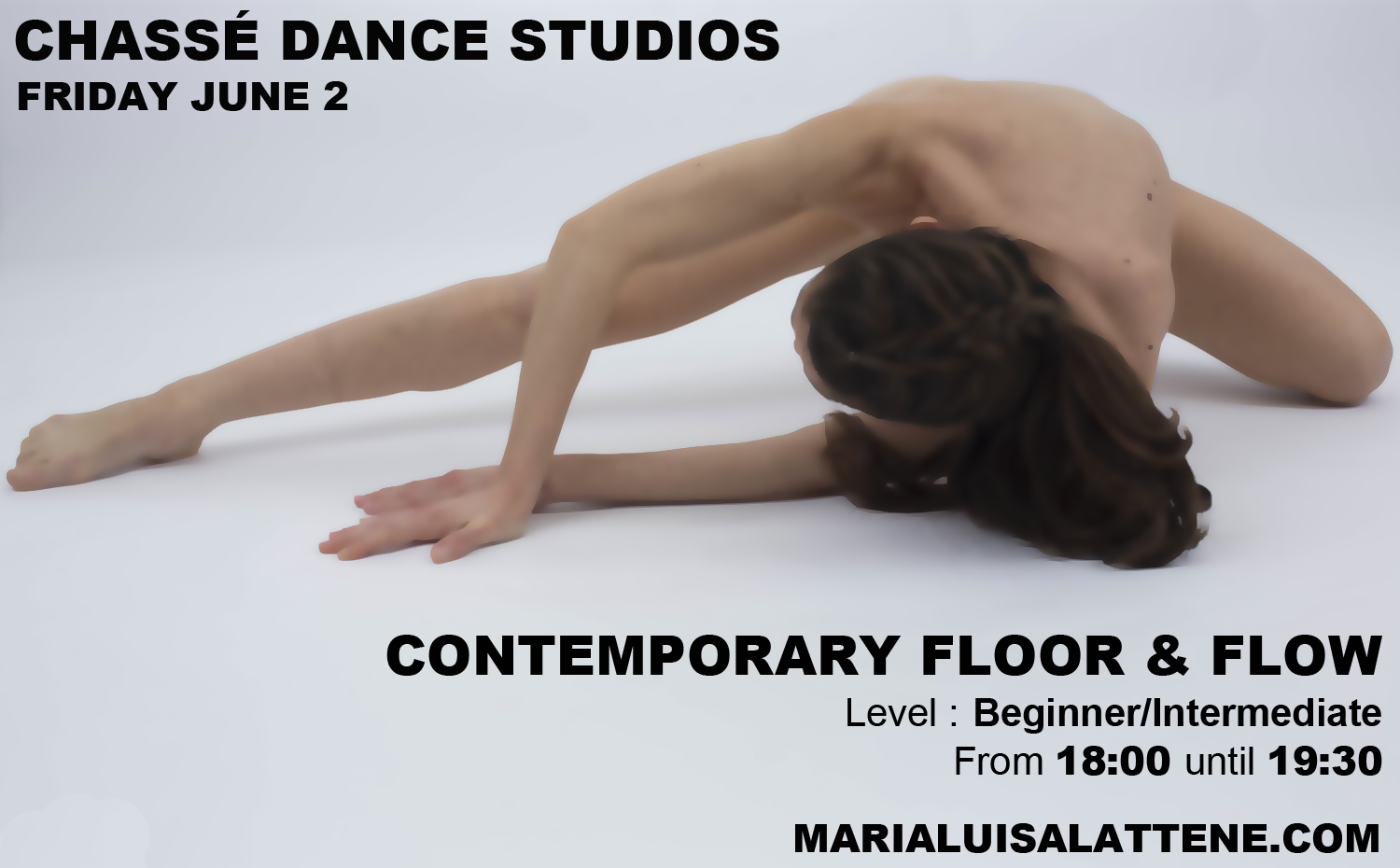 Tonight at Chassé Dance studios come and join me for the floor and flow class, hope to see you all there!