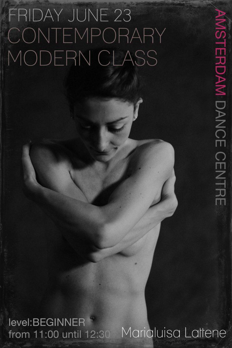 Contemporary Modern Dance Class Amsterdam
